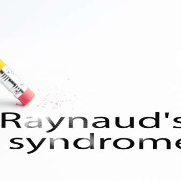 Pencil with eraser Raynauds syndrome